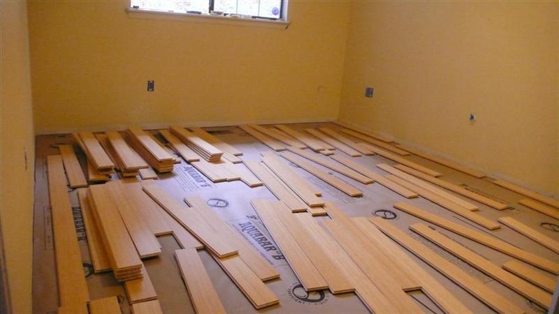 ... Woohoo ... Got The New Bamboo Floor Installed ... Baseboard Question   ...