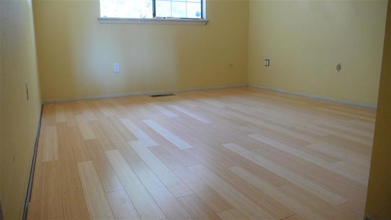 Great Woohoo ... Got The New Bamboo Floor Installed ... Baseboard Question  ...