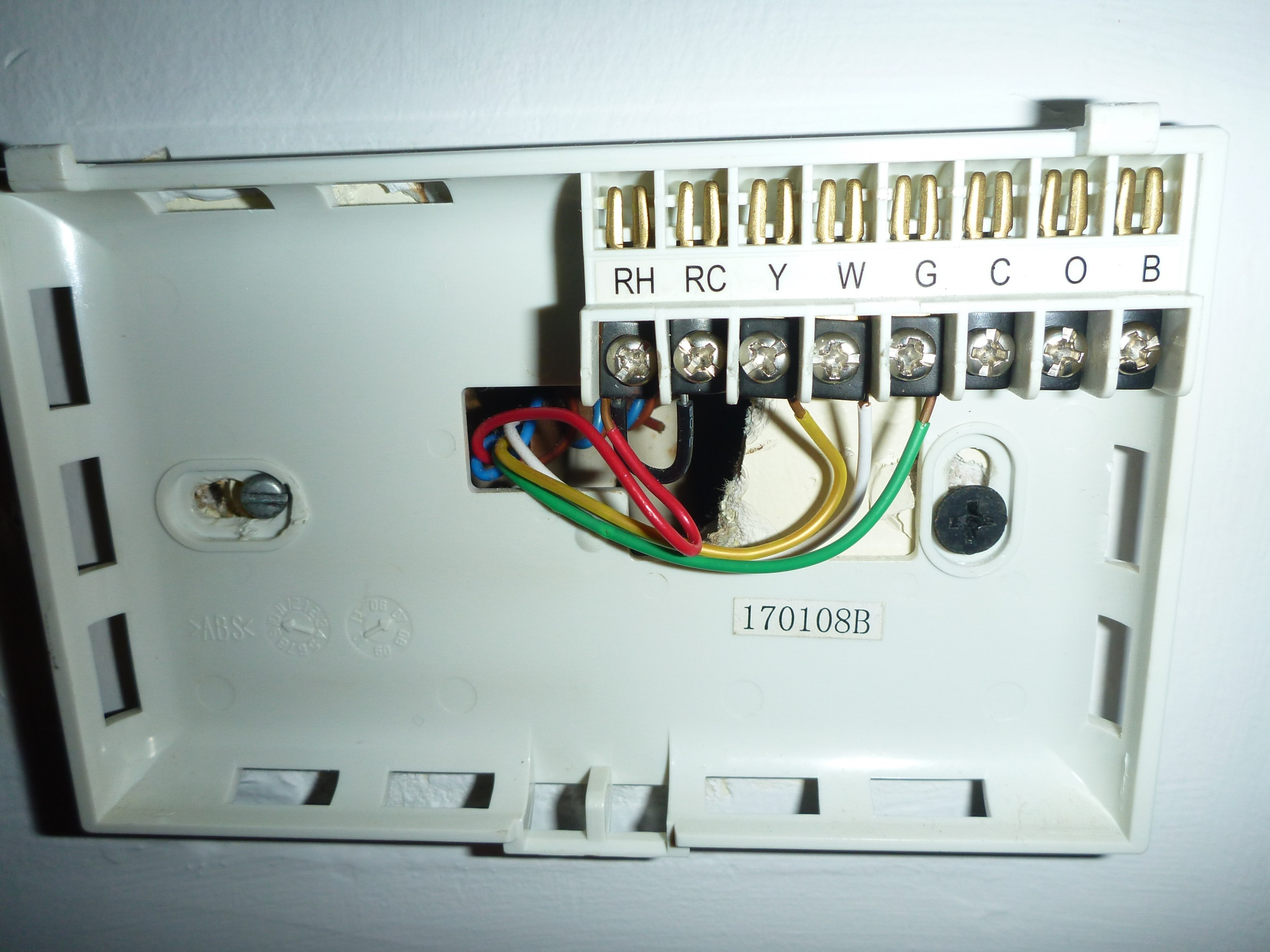 Diagram Thermostat C Wire