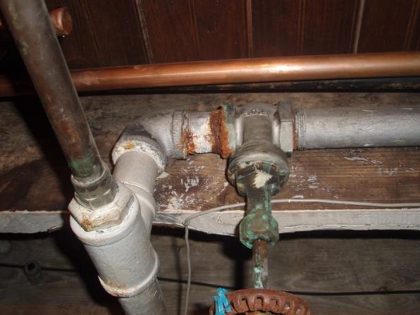 Galvanized Drain Pipe Repair Cr04 Roccommunity