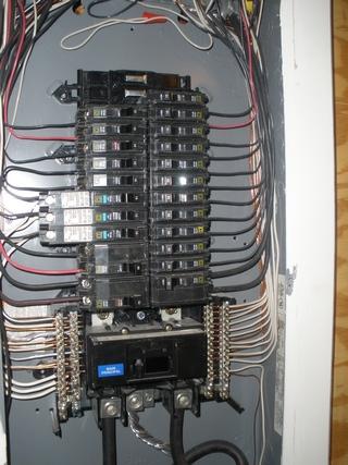 Main To Sub Panel Conduit Wire Run Electrical Diy