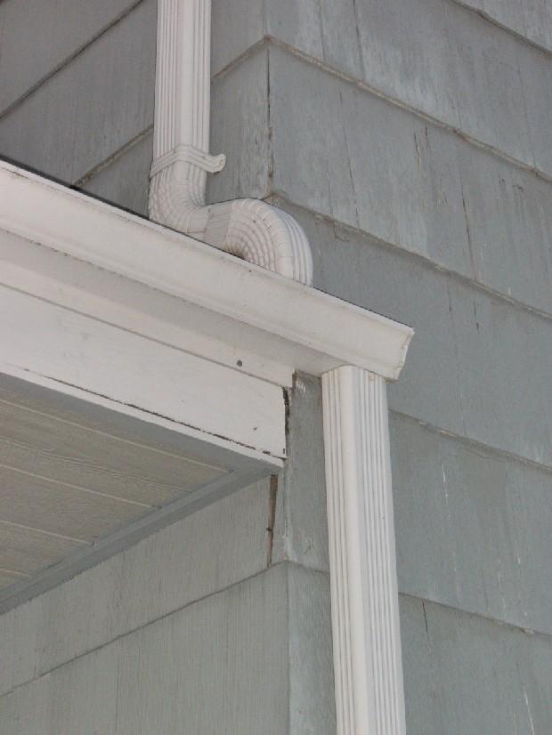 vinyl siding corner post obstruction remodeling diy chatroom