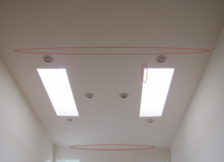 Ceiling Discoloration Yellow