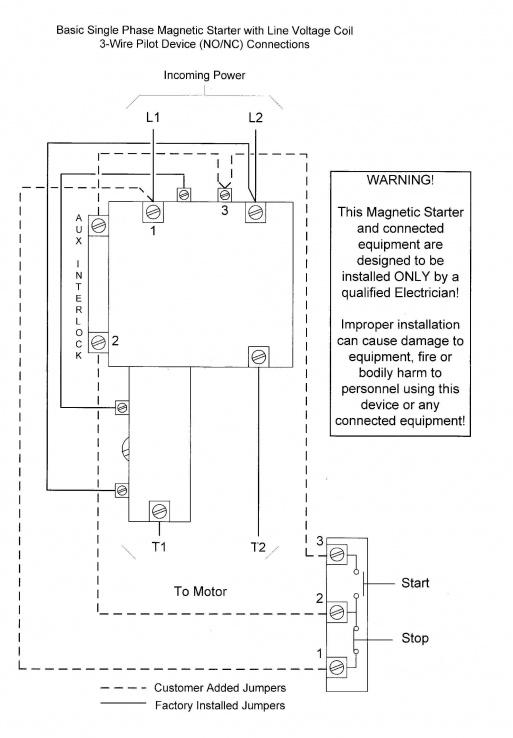 Start Stop Station Wiring Diagram on
