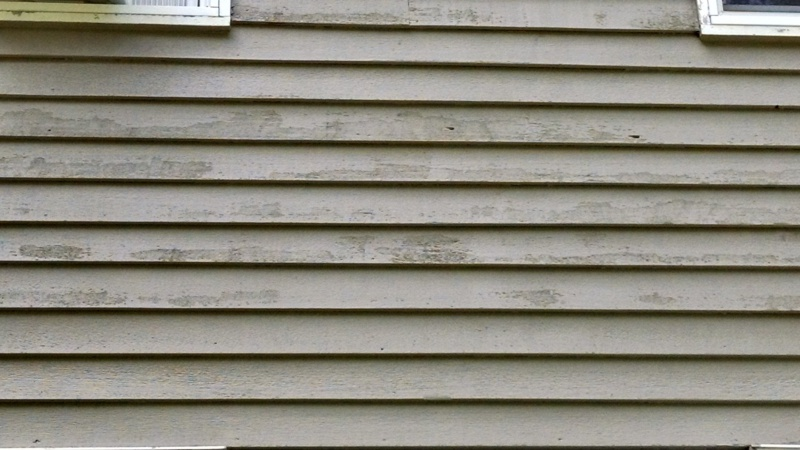 Solid Stain Over Scraped Clapboard Siding Painting Diy