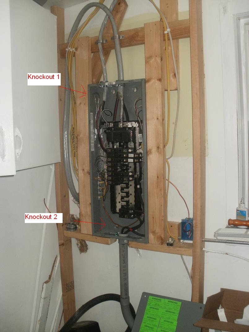Service Entrance Into Main Panel Electrical Diy Chatroom Home Wiring Where Enter