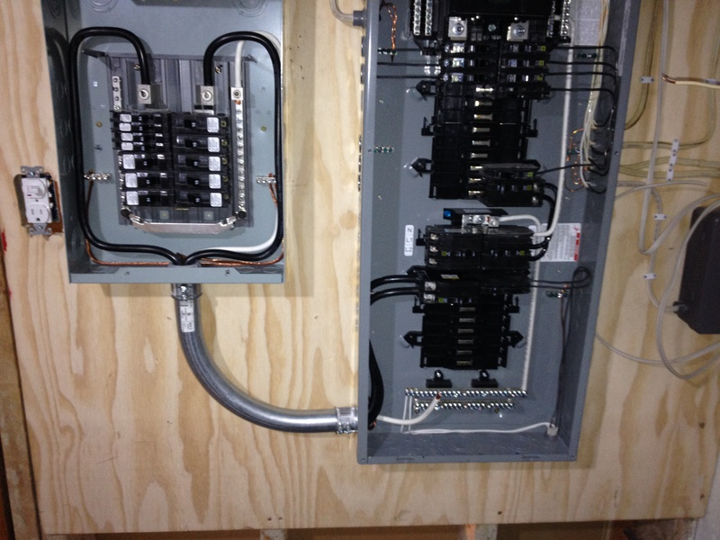 Installing Subpanel For Workshop - Electrical - Page 2 ...