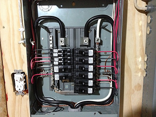 Electrical Wiring In The Home Installing A Subpanel Amp Breaker Amp