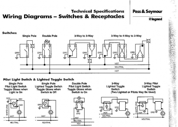 Wiring Diagram For Three Way Switches With Pilot Light Page 2 Diy Home Improvement Forum