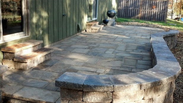 Using a Plate Compactor for stone patio-patio00003.jpg