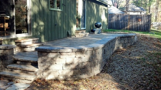 Using a Plate Compactor for stone patio-patio00004.jpg