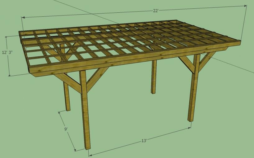 Etonnant Patio Structure Patio1 ...