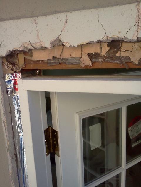 Install New Patio Prehung Door But Big Gap Between Header