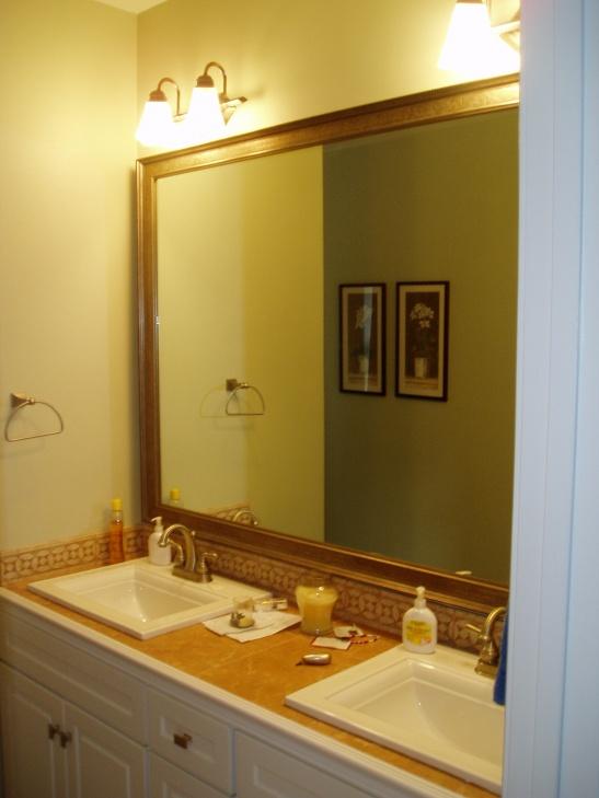 Trim Around A Mirror Carpentry Diy Chatroom Home