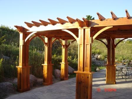 Pergola - Attaching rafters to beams? - Pergola - Attaching Rafters To Beams? - Carpentry - DIY Chatroom
