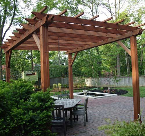 Freestanding Pergola Building Amp Construction Diy
