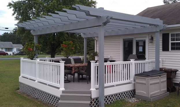 Pergola Rafter Ends Outdoor Goods
