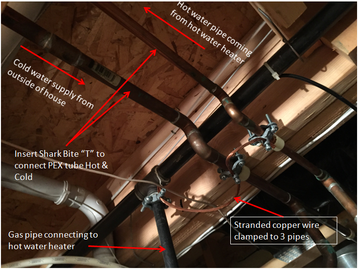 Installing Pex Pipe For Water Supply Issue Need Help