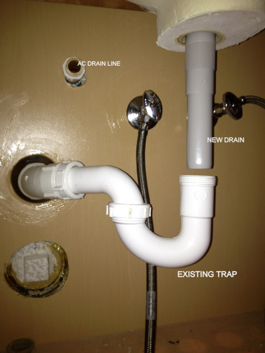 Need Help With Sink Drain And Tailpiece Plumbing Diy