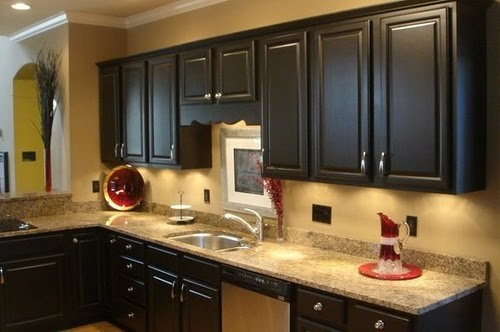 Genial ... Refinishing/painting Kitchen Cabinets Photo 1