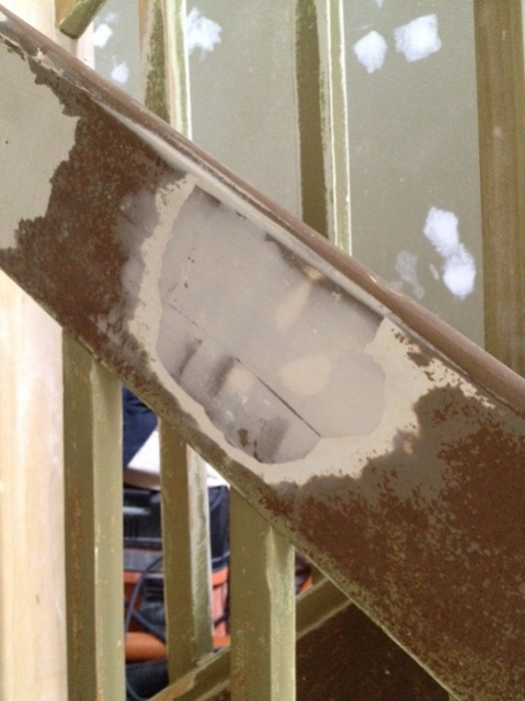 Putty or Spackle for stair rail and latex chip/peel repair.-photo-1.jpg