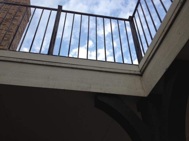 Drip Edge Rail Solution For Flat Concrete Deck Roofing