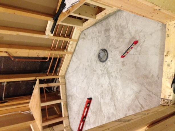 Waterproofing Tiled Shower Walls. - Tiling, ceramics, marble - DIY ...