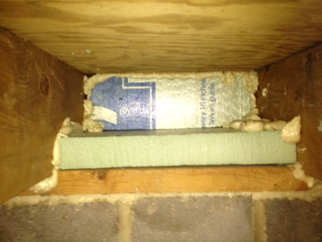 Rim Joist Insulation Insulation Diy Chatroom Home Improvement Forum