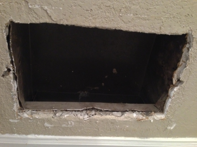 Vent Covers Falling Out Of Wall Drywall Amp Plaster Diy