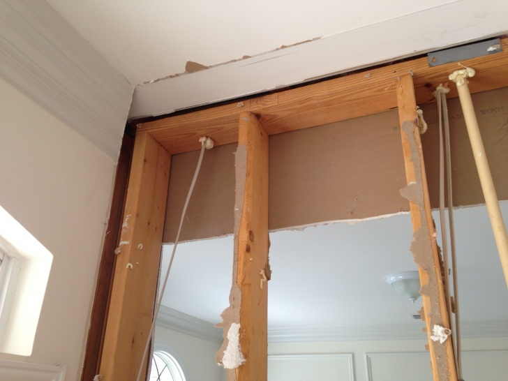 Is this a load bearing wall?  If so, what do I do to support the ceiling?-photo-2.jpg