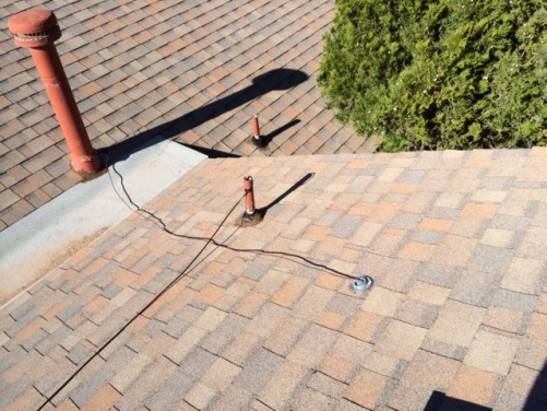 Grounding Wire On Roof Electrical Diy Chatroom Home