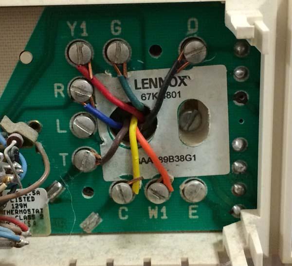 Thermostat Wiring