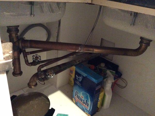 Hot Water Clogs Kitchen Sink. Cold Water, No Clog. - Plumbing - DIY ...