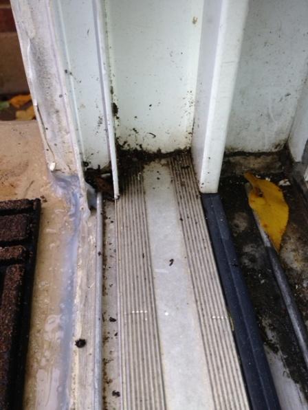 Sliding Glass Door Leak At Bottom Windows And Doors