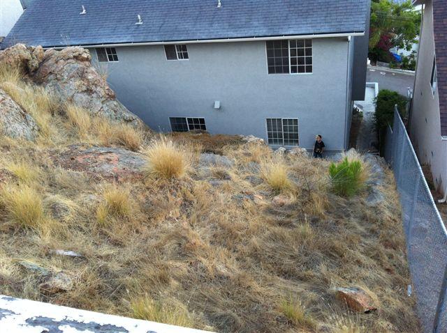 hillside landscaping ideas back yard asola diy hillside landscaping details