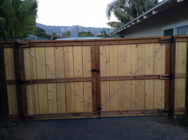 Driveway Gate Warping 10 Span Building Amp Construction