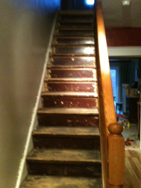 ... Redoing Stairs For Painting Photo 4
