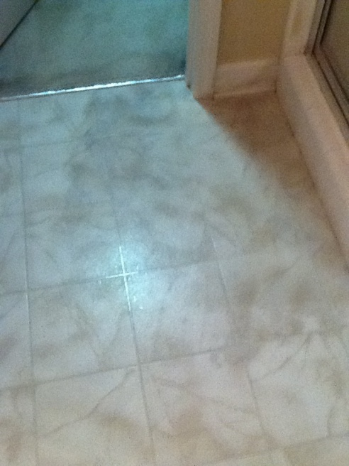 Water Leak Under Linoleum Plumbing Diy Home