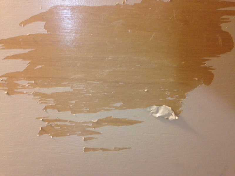 Removing paint on kitchen cabinets to restore wood surface-photo.jpg