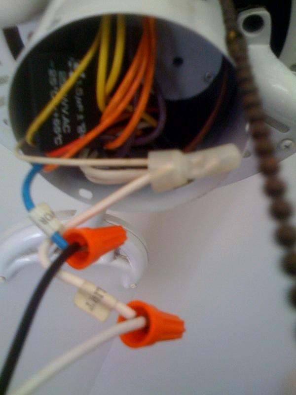 Problems Installing a Light Fixture onto a Ceiling Fan-photo.jpg