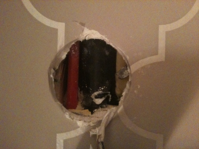 "Bathroom light fixture- No Stud 1"" to work with!!-photo.jpg"