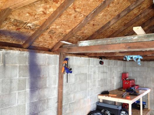 Roof Repair For Cinderblock Garage (Top Plate U0026amp; ...