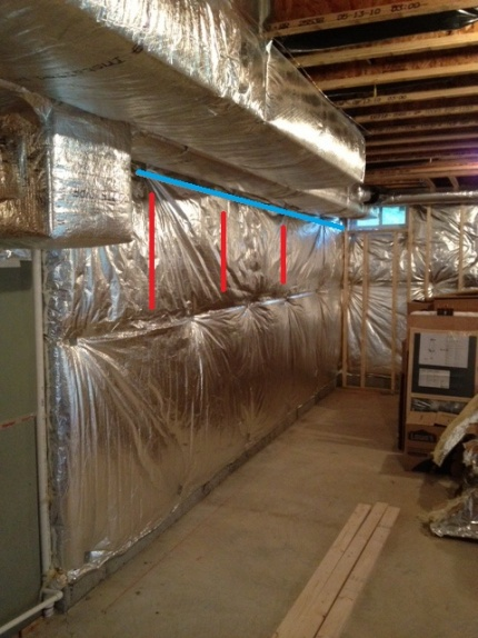 Properly supporting a basement wall under furnace ducting-photo.jpg
