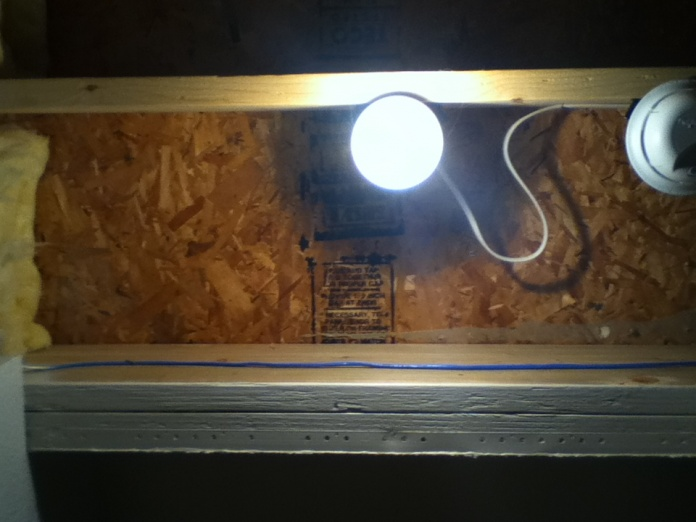 Installing a Light Fixture to a Joist-photo.jpg