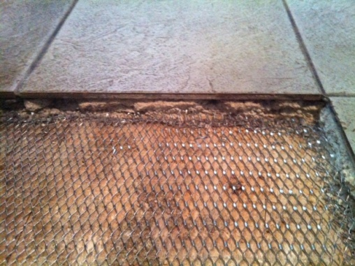 Replacing Tiles Over Old Thick Mortar Bed Tiling