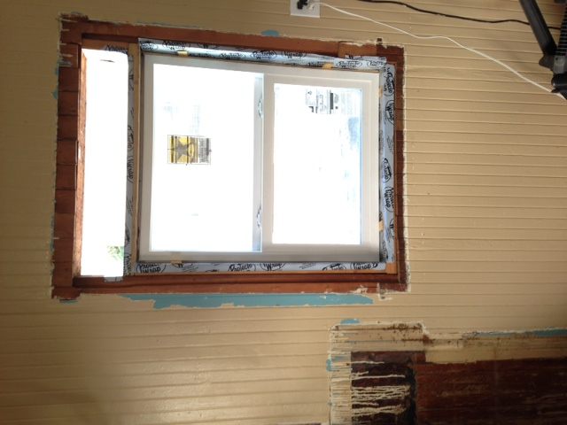 Patching holes in interior wood walls-photo.jpg