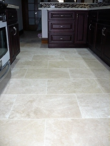 Sealing Natural Travertine Floor Tiling Ceramics