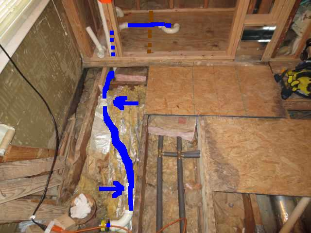 Double shower drain vent question.-pic-003copymarked.jpg