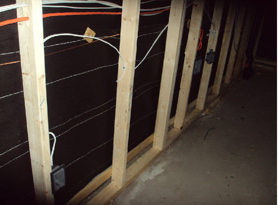 wiring behind studs electrical diy chatroom home improvement forum rh diychatroom com Basement Wiring for Lighting Wiring Basement Wall