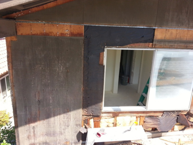 Tyvek House Wrap Behind New T1 11 Siding And Corners